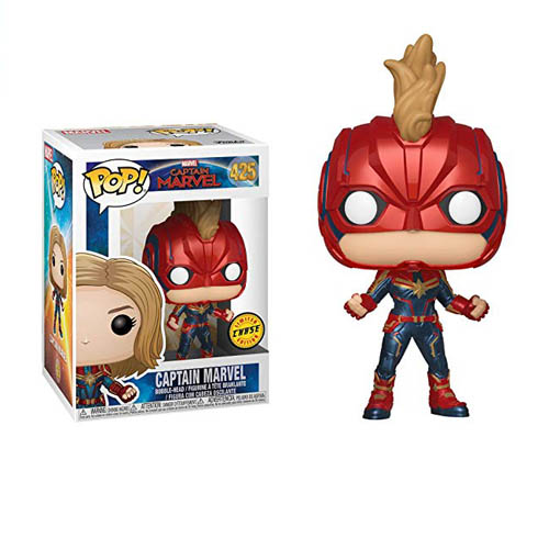 Капитан Марвел в шлеме (Captain Marvel with Helmet) #425 (Chase)